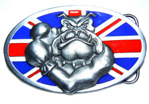 Boxing Bullie Bulldog Belt Buckle