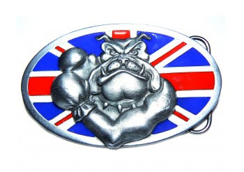 Boxing Bully Belt Buckle