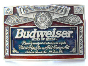Budweiser-Belt-Buckle
