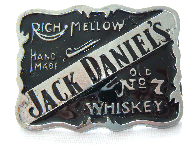 Mellow Jack Daniel's Belt Buckle