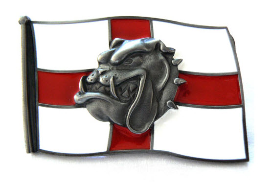 George Spike Bulldog Belt Buckle