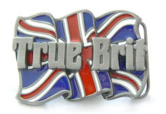 True Brit Patriotic Buckle