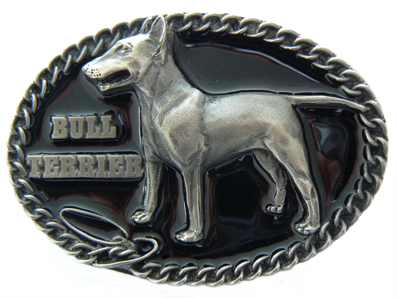 Bull Terrier Belt Buckle