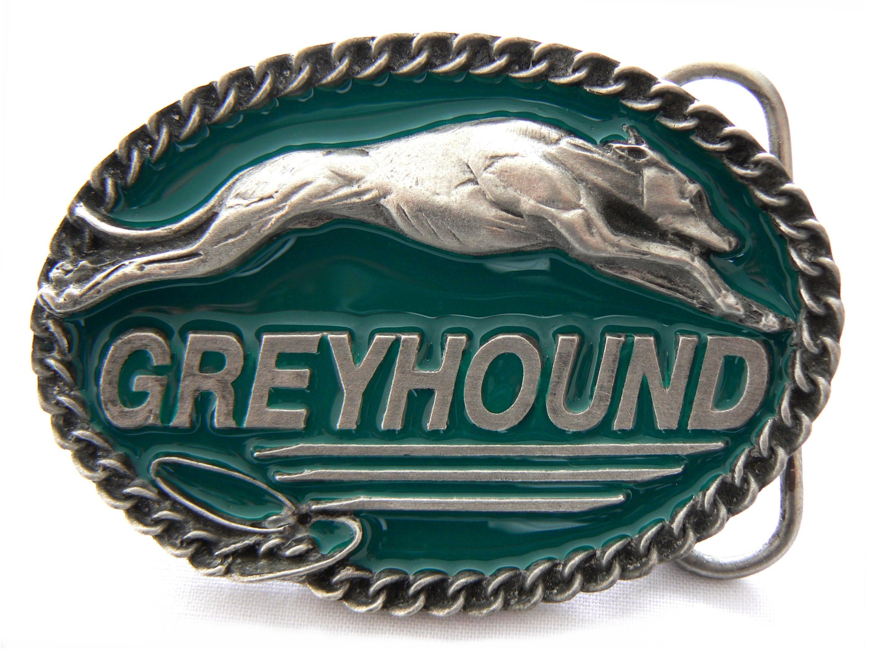 Greyhound Belt Buckle