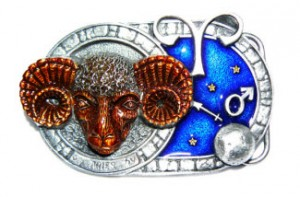Aries Belt Buckle