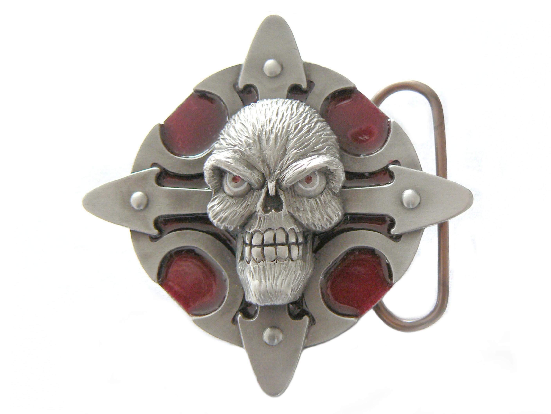 Skull Talisman (Red)