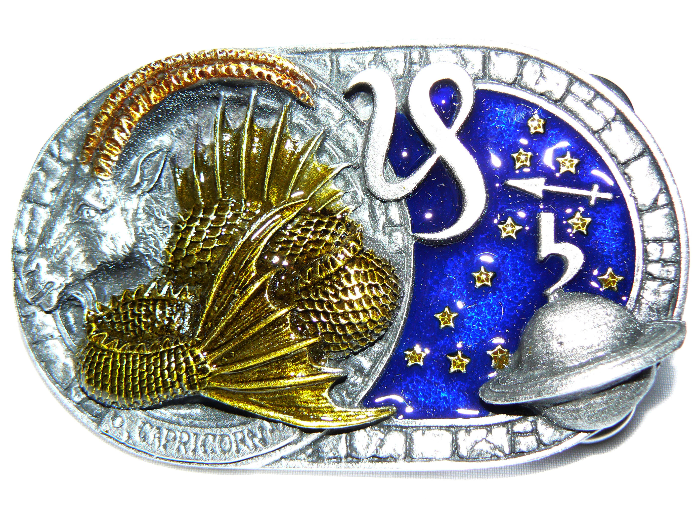 Capricorn Belt Buckle