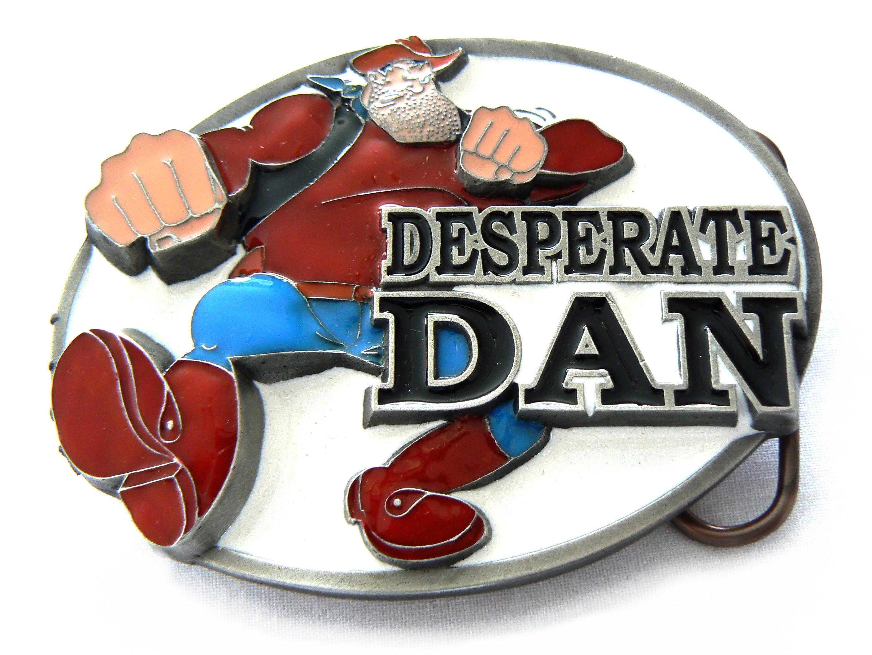 Dandy   Desperate Dan Belt Buckle