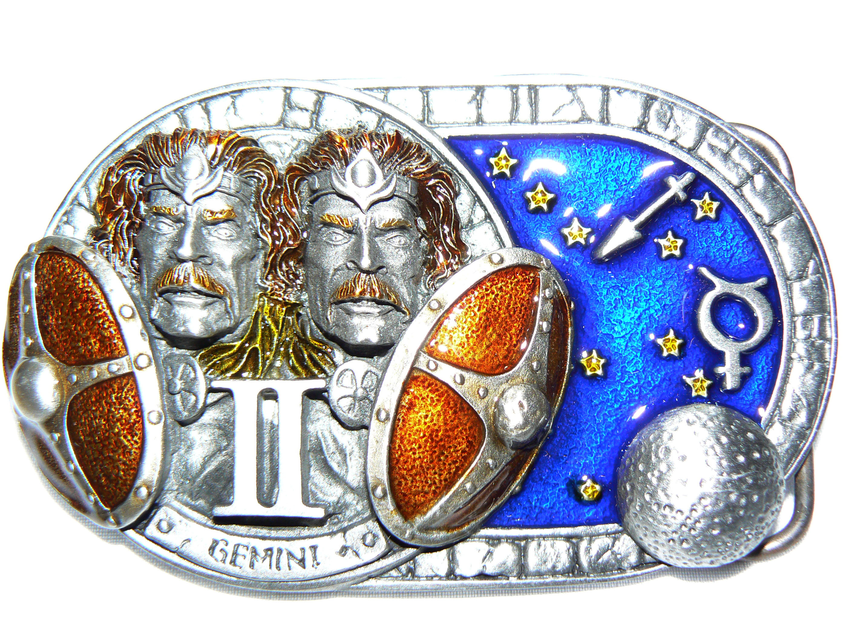 Gemini Belt Buckle