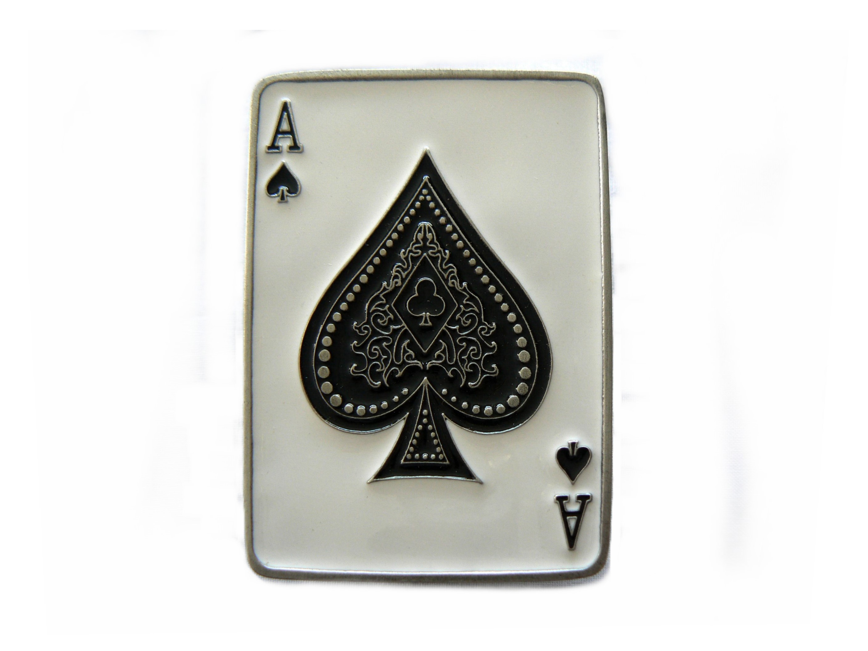 image Ace of spades on the white ladies ass