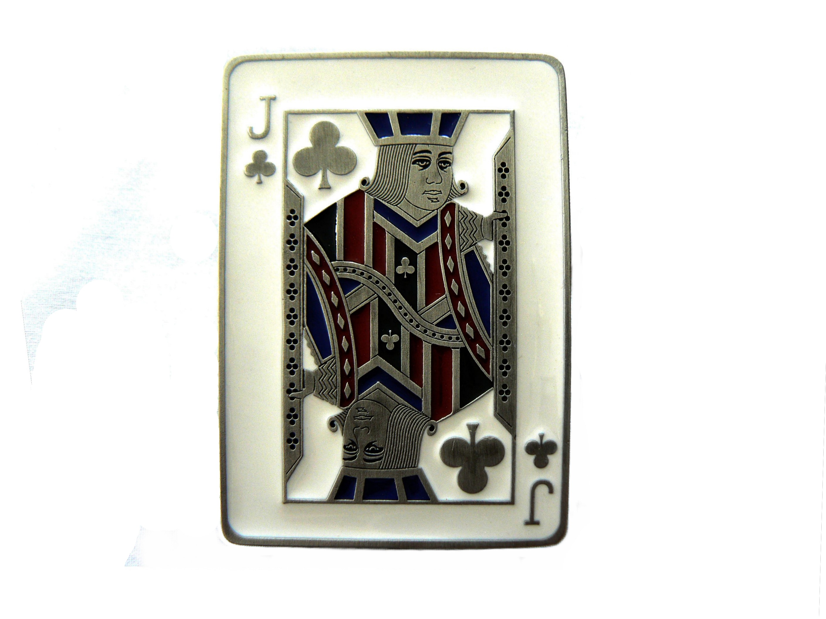 Jack of Clubs Buckle