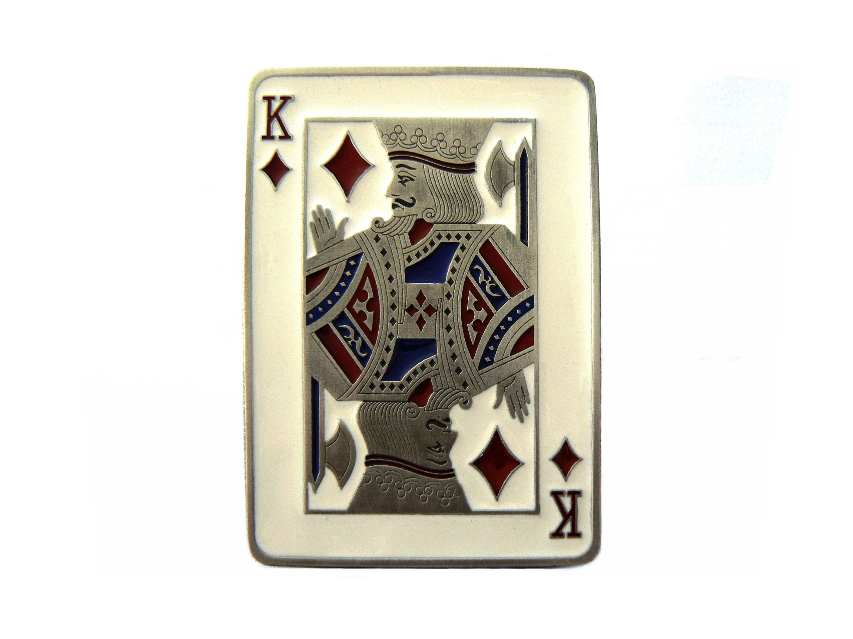 King of Diamonds Buckle