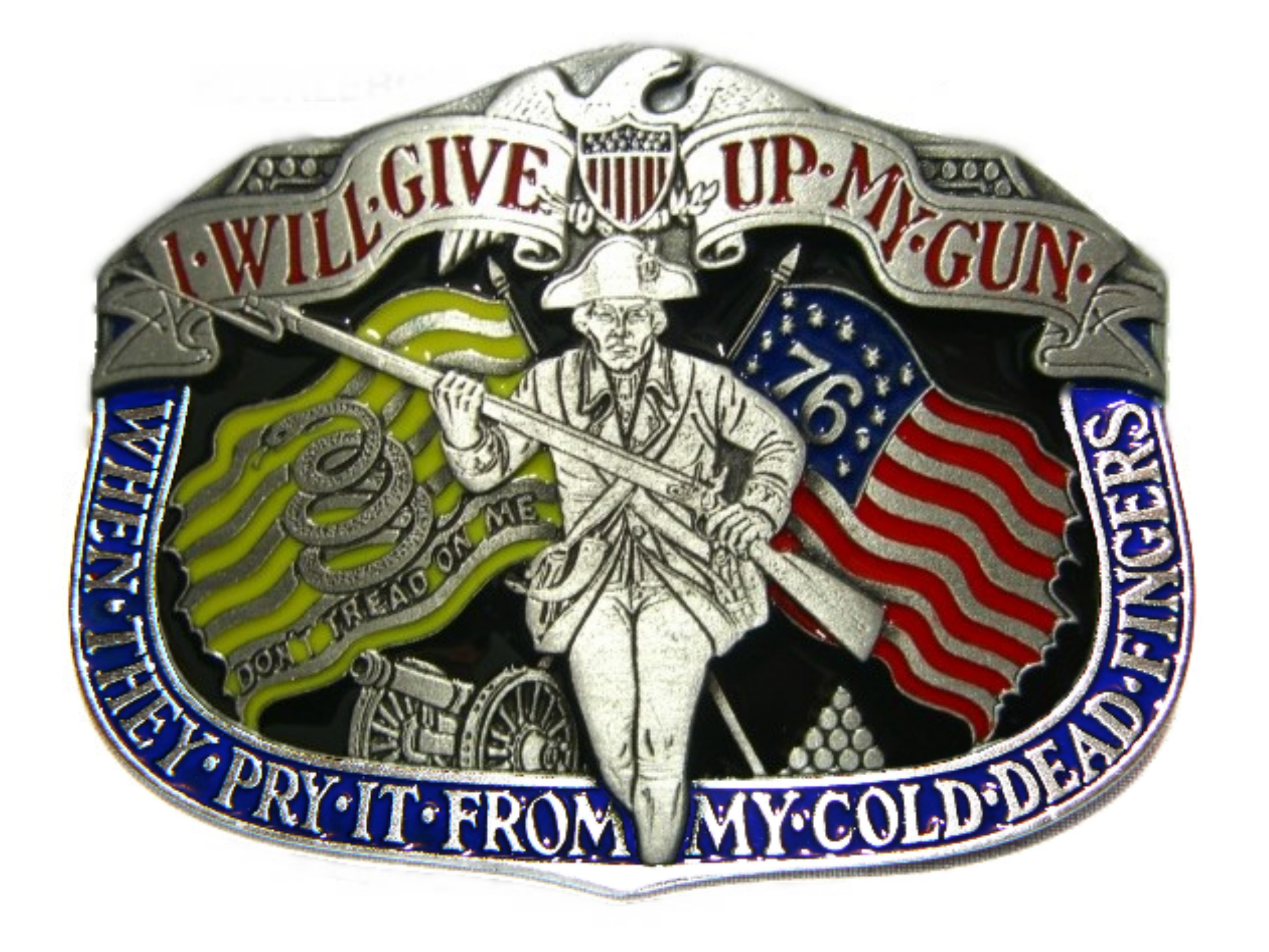 'Cold Dead Fingers' Buckle