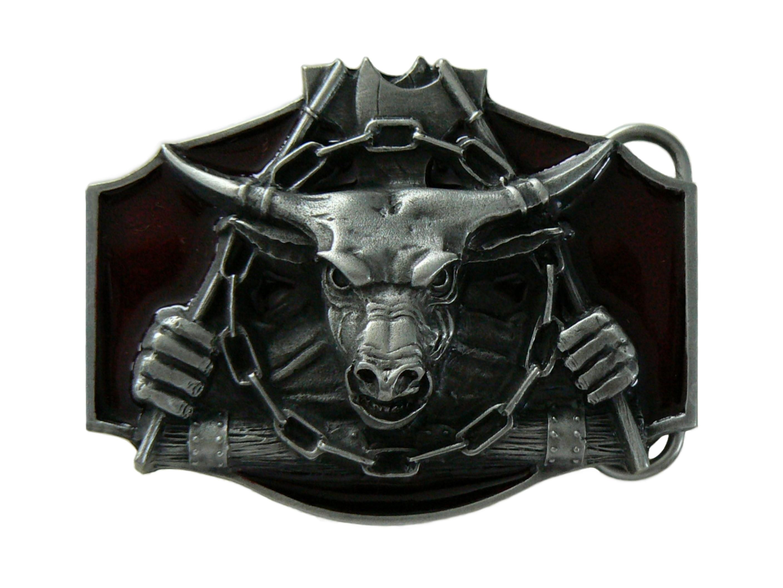 Bull Belt Buckle