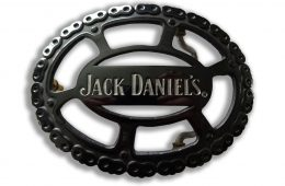 Jack Daniel's Chain Belt Buckle