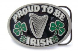 Proud Irish Belt Buckle