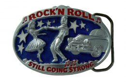 Rock 'n Roll Belt Buckle