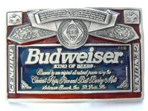 Budweiser & Beer Buckles
