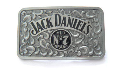 Jack Daniel's No.7 Belt Buckle