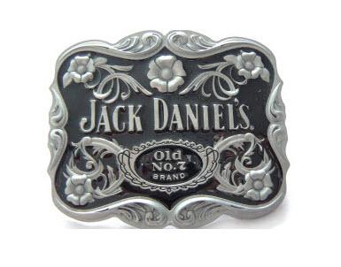Jack Daniel's Roses Belt Buckle