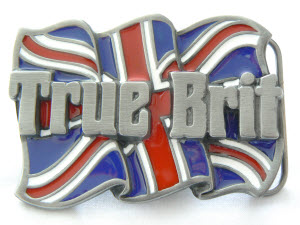 True Brit Patriotic Belt Buckle
