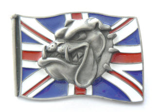 Union Spike Bulldog Buckle