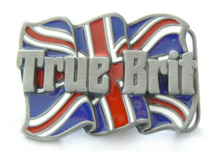 True Brit Patriotic Buckle