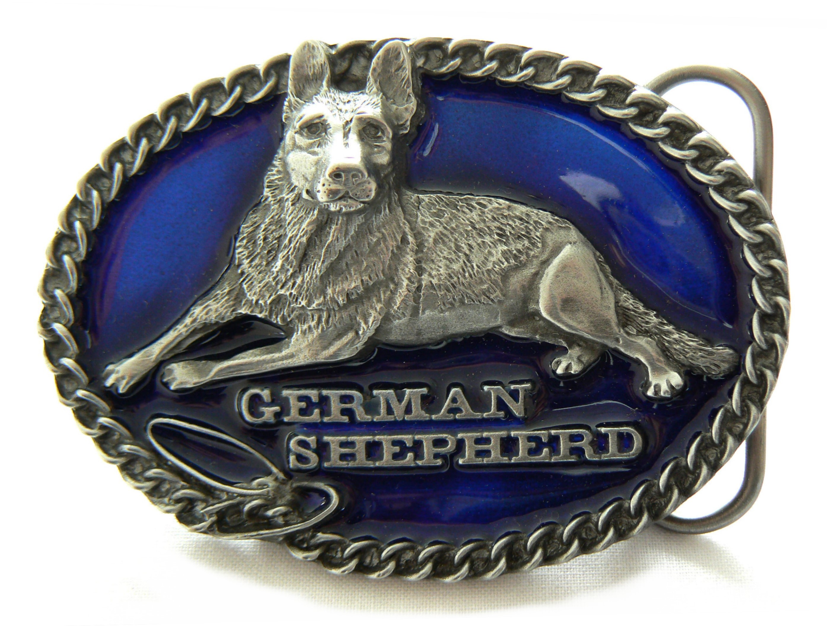 German Shepherd Belt Buckle