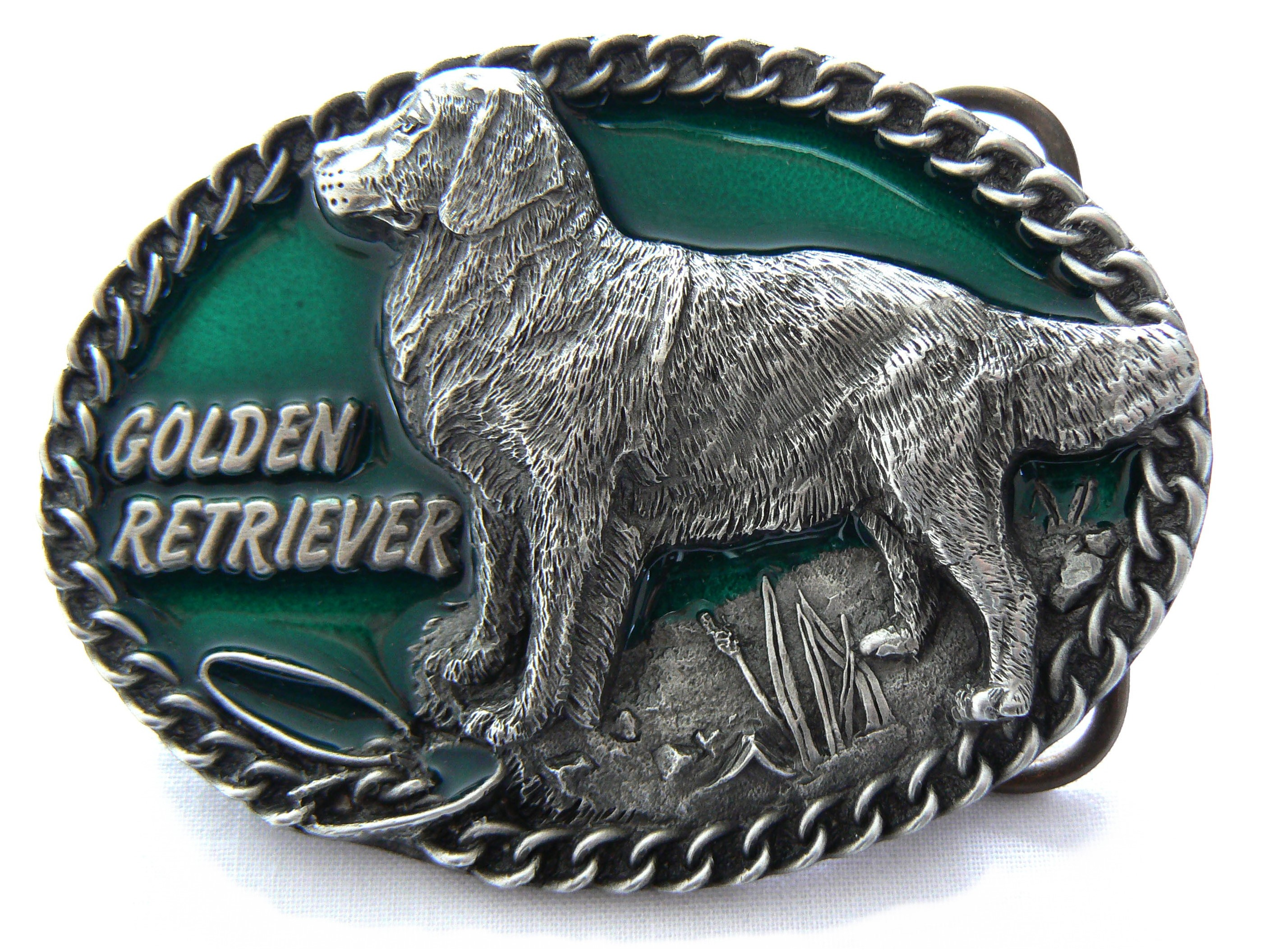 Golden Retriever Buckle