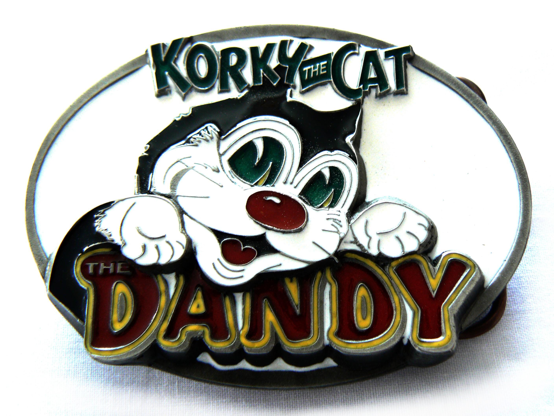 Dandy | Korky the Cat Belt Buckle