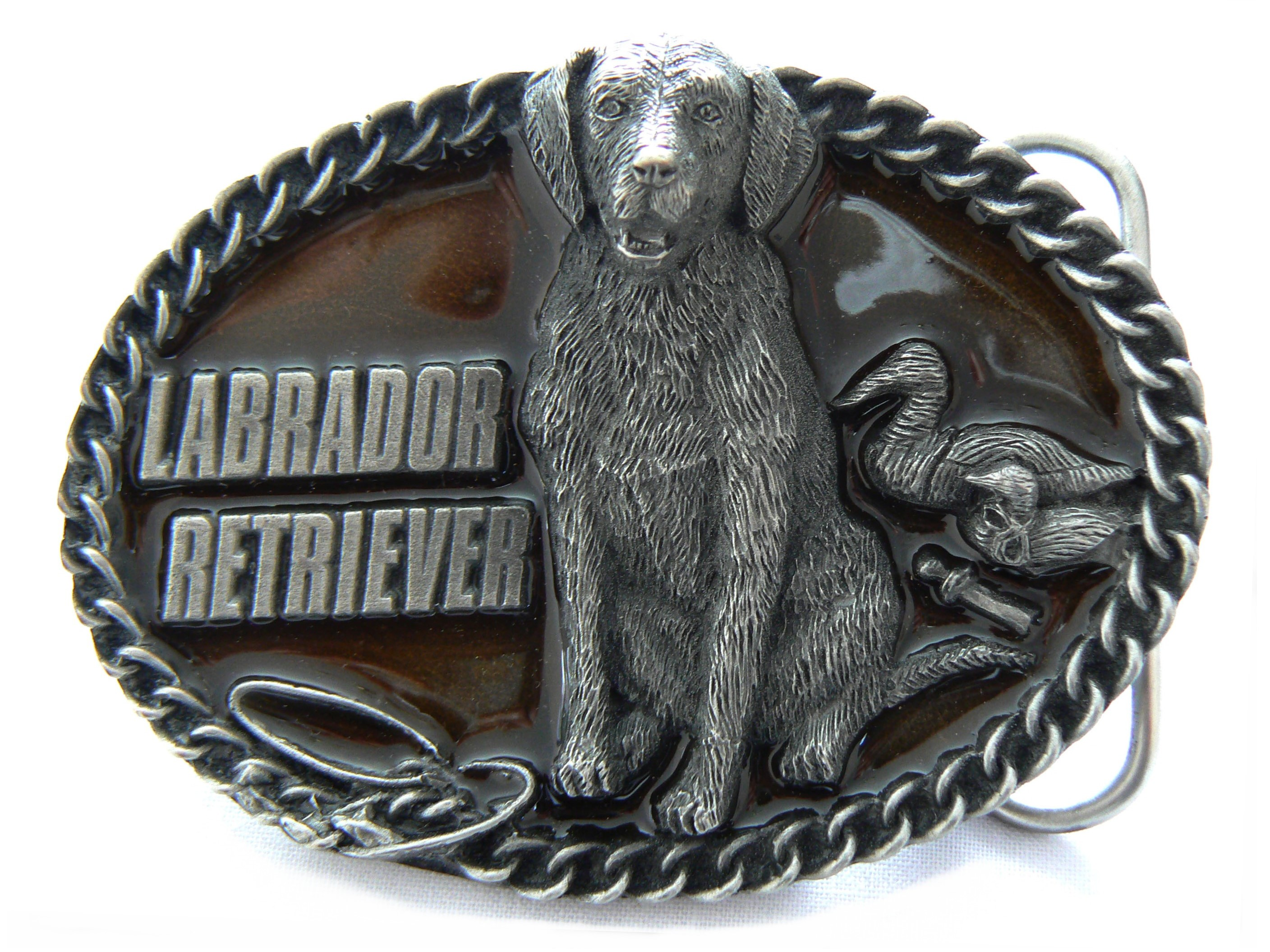 Labrador Belt Buckle
