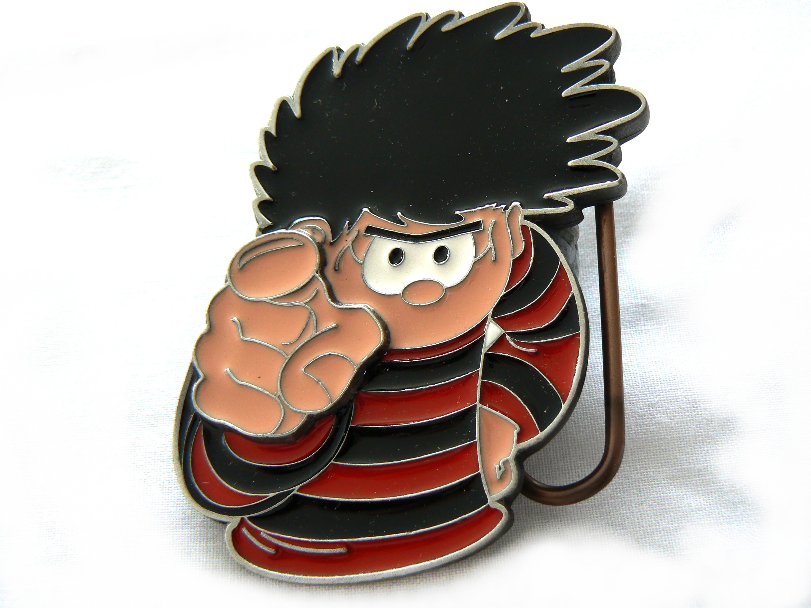 Beano | Dennis Pointing Belt Buckle