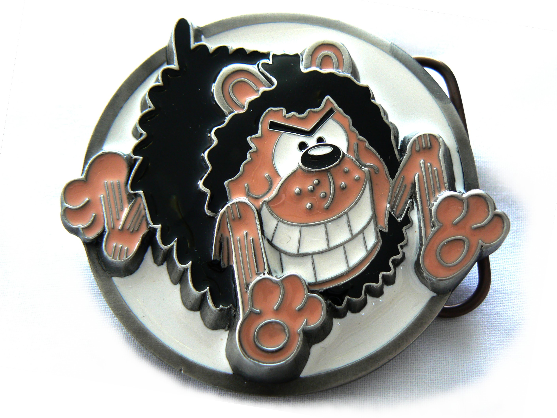 Beano | Gnasher Running Belt Buckle