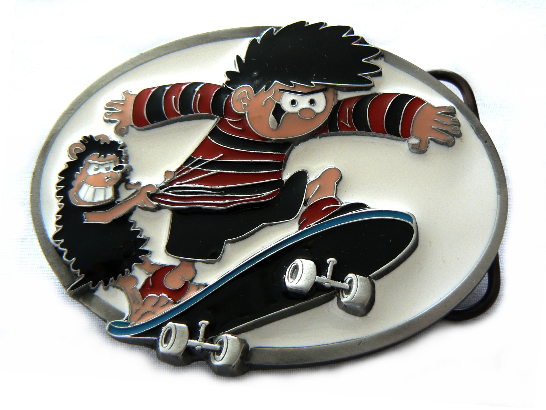 Beano | Skateboarding Dennis Belt Buckle