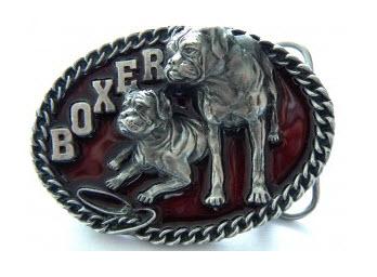 Dog Breed Belt Buckles