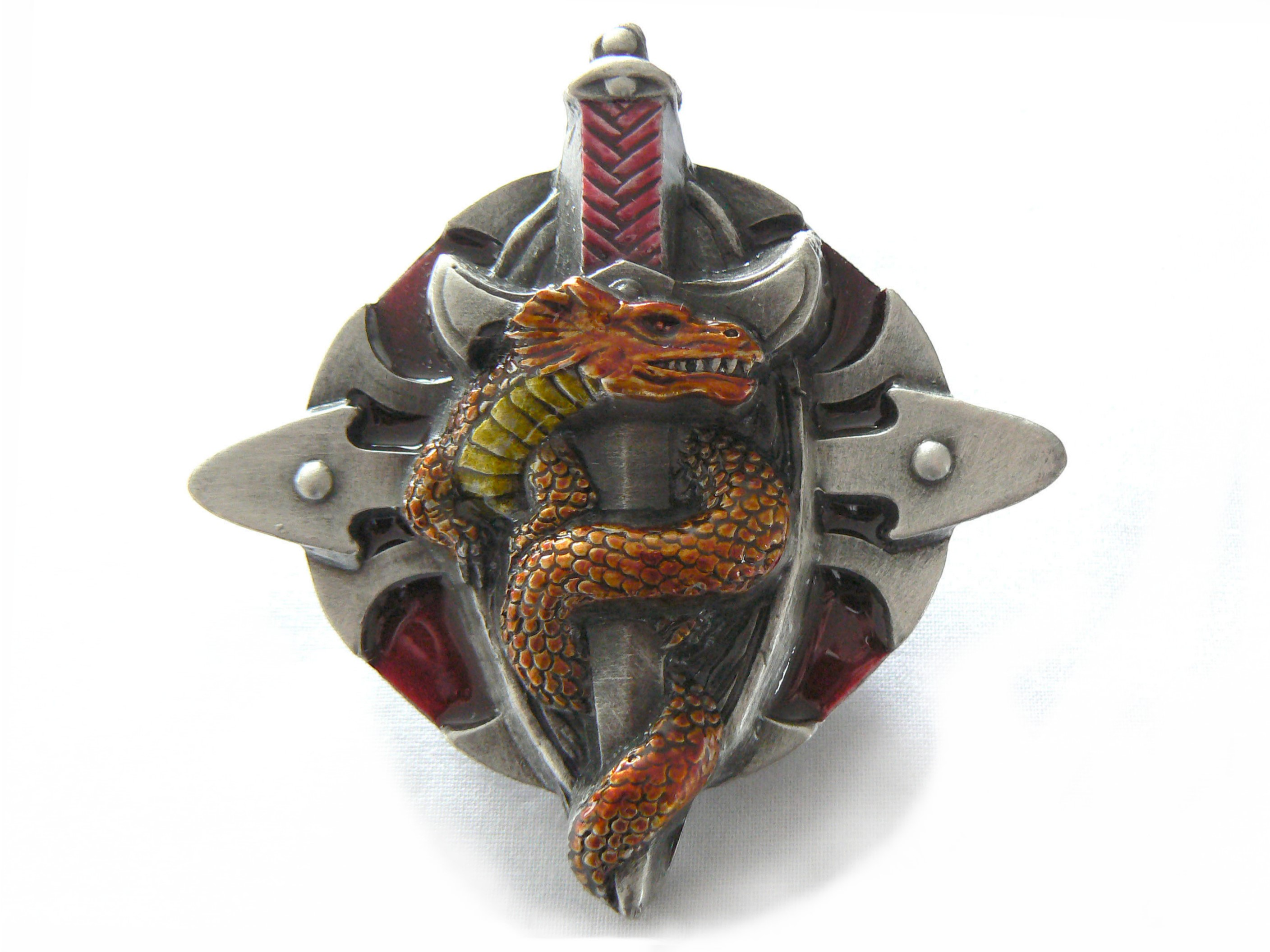 Dragon Talisman (Red)