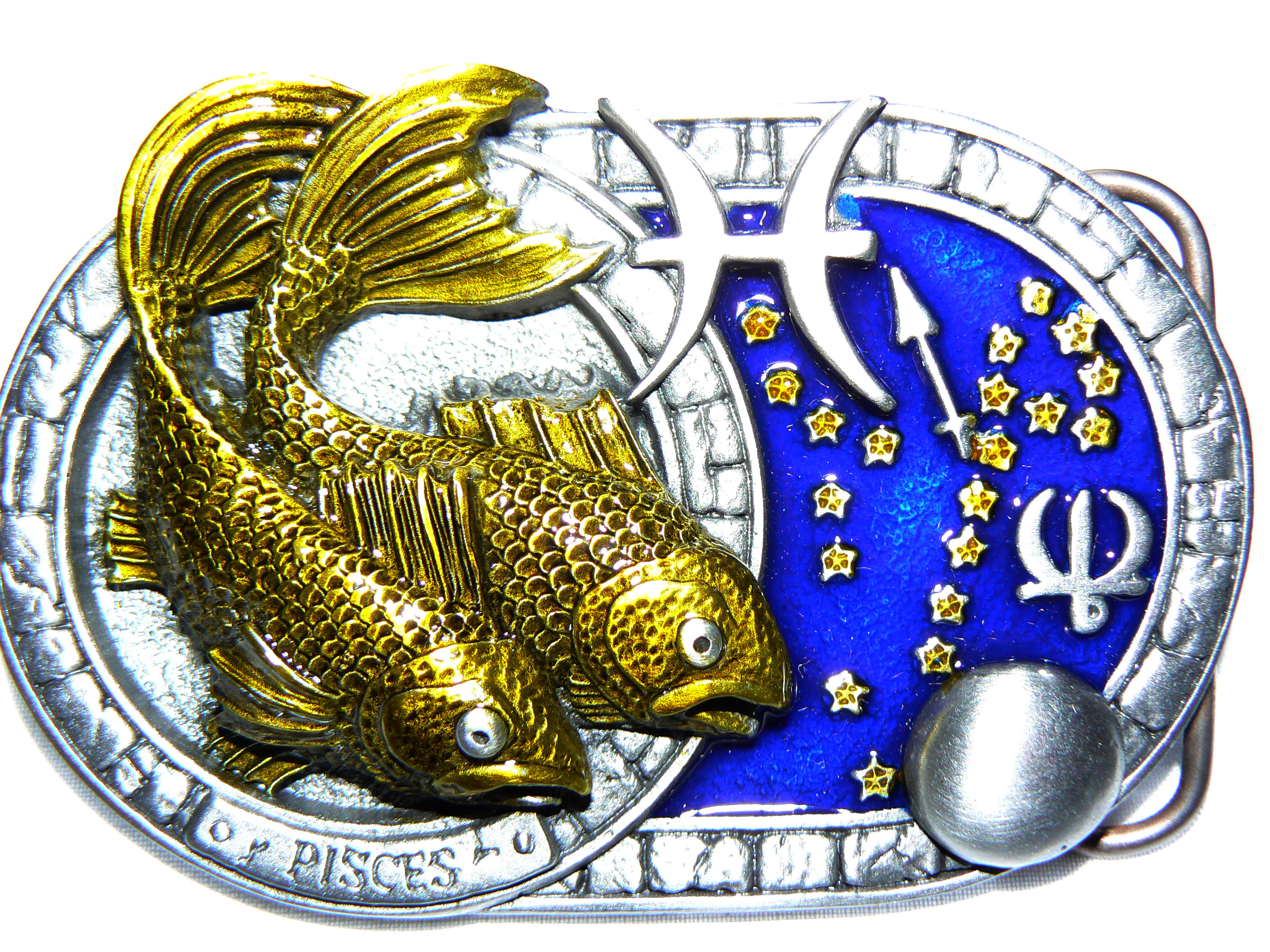 Pisces Belt Buckle