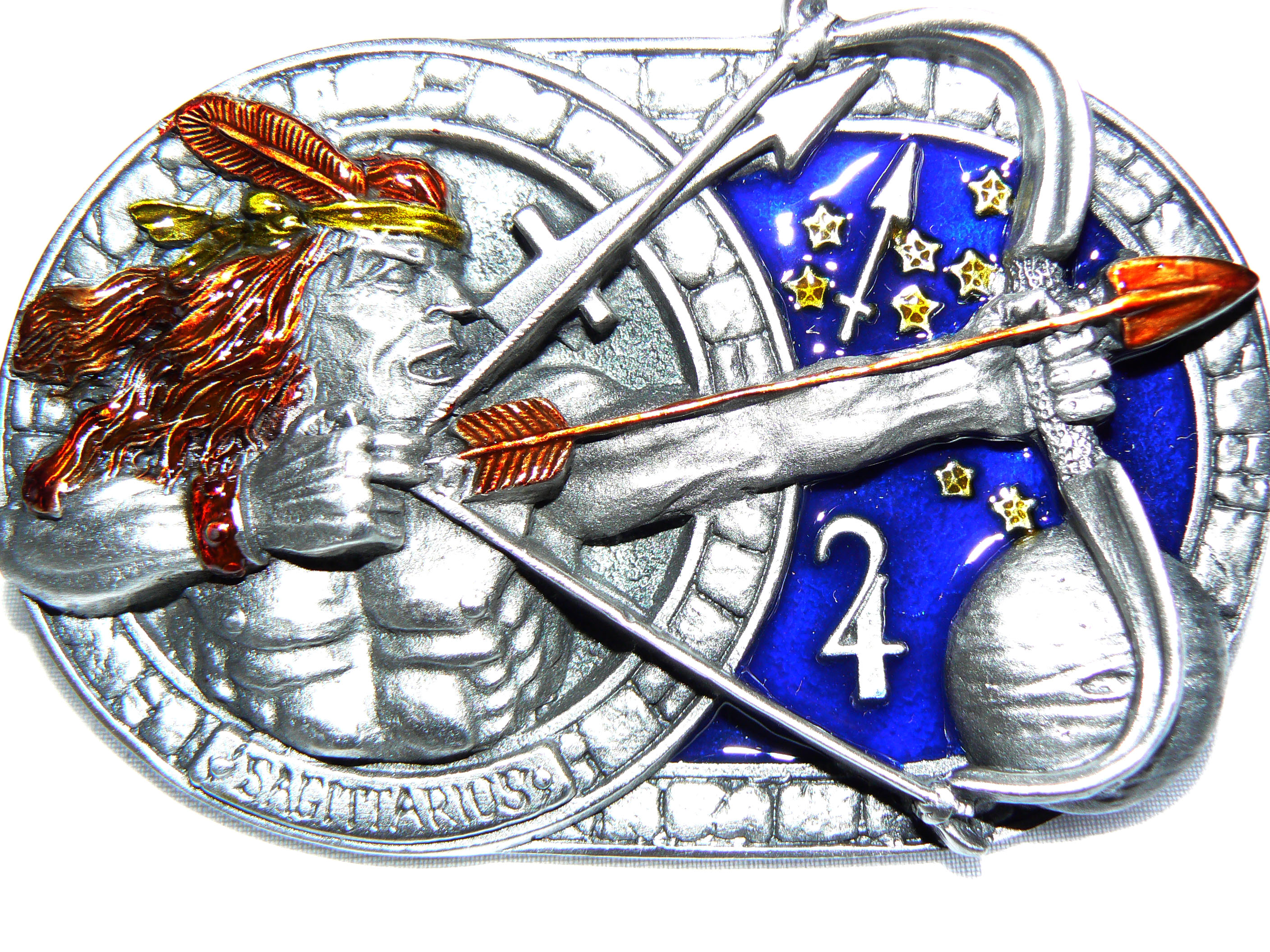 Sagittarius Belt Buckle