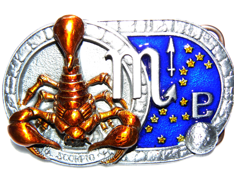 Scorpio Belt Buckle