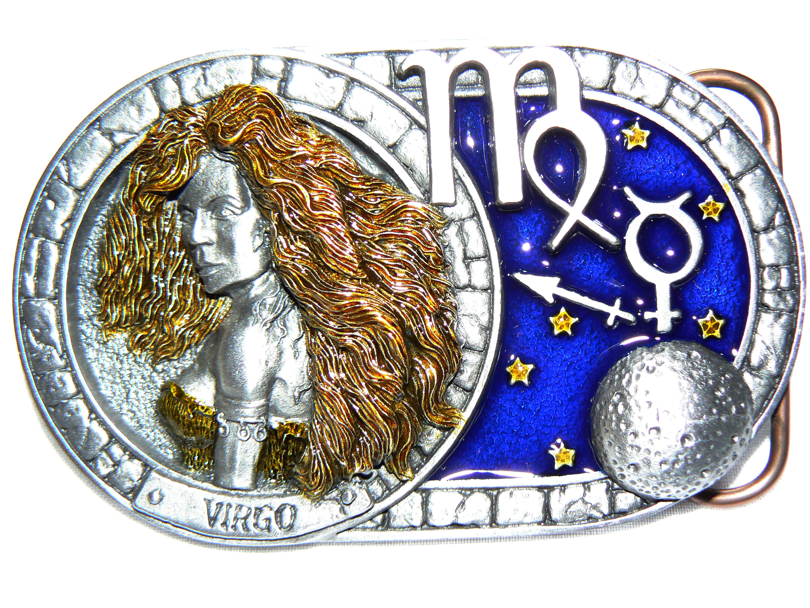 Virgo Belt Buckle