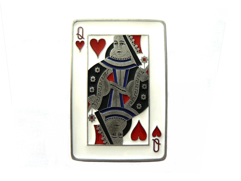 Queen of Hearts Buckle