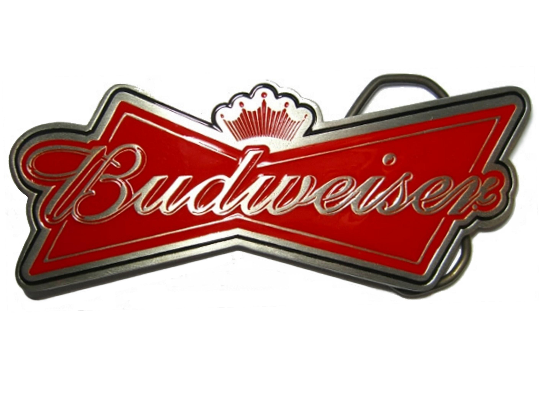 Budweiser Logo Buckle