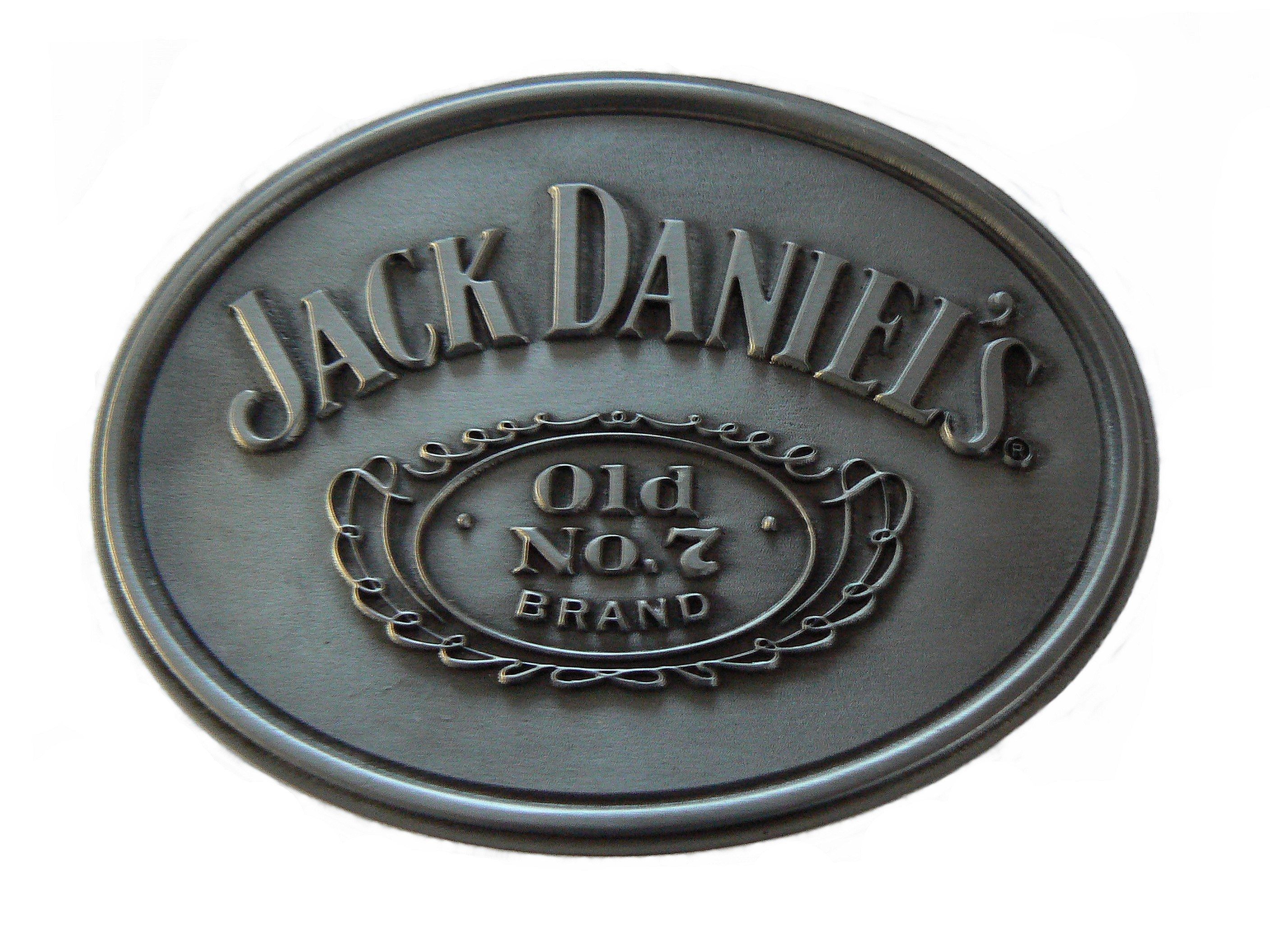 Jack Daniel's Smooth Belt Buckle