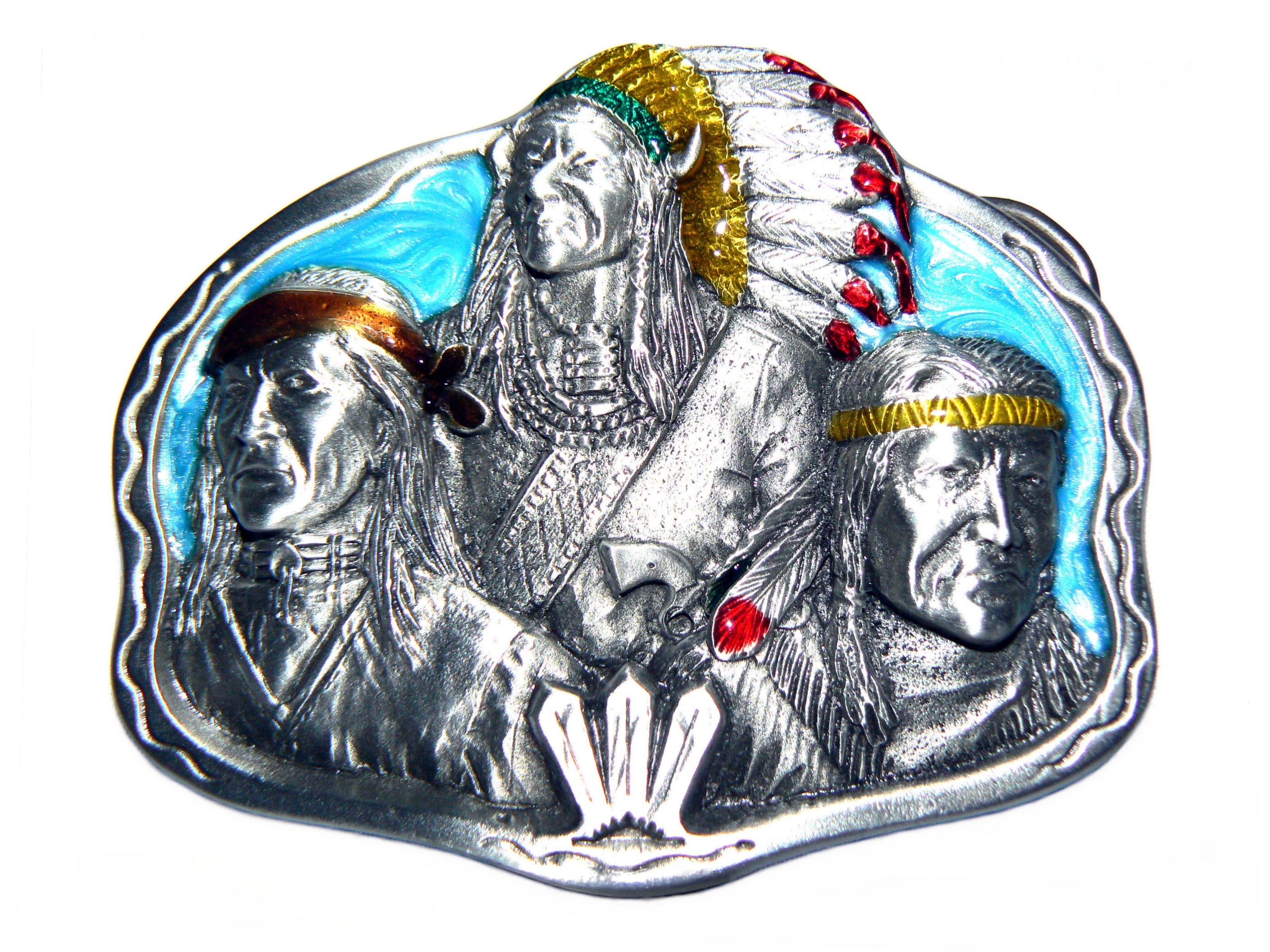 Natives Belt Buckle