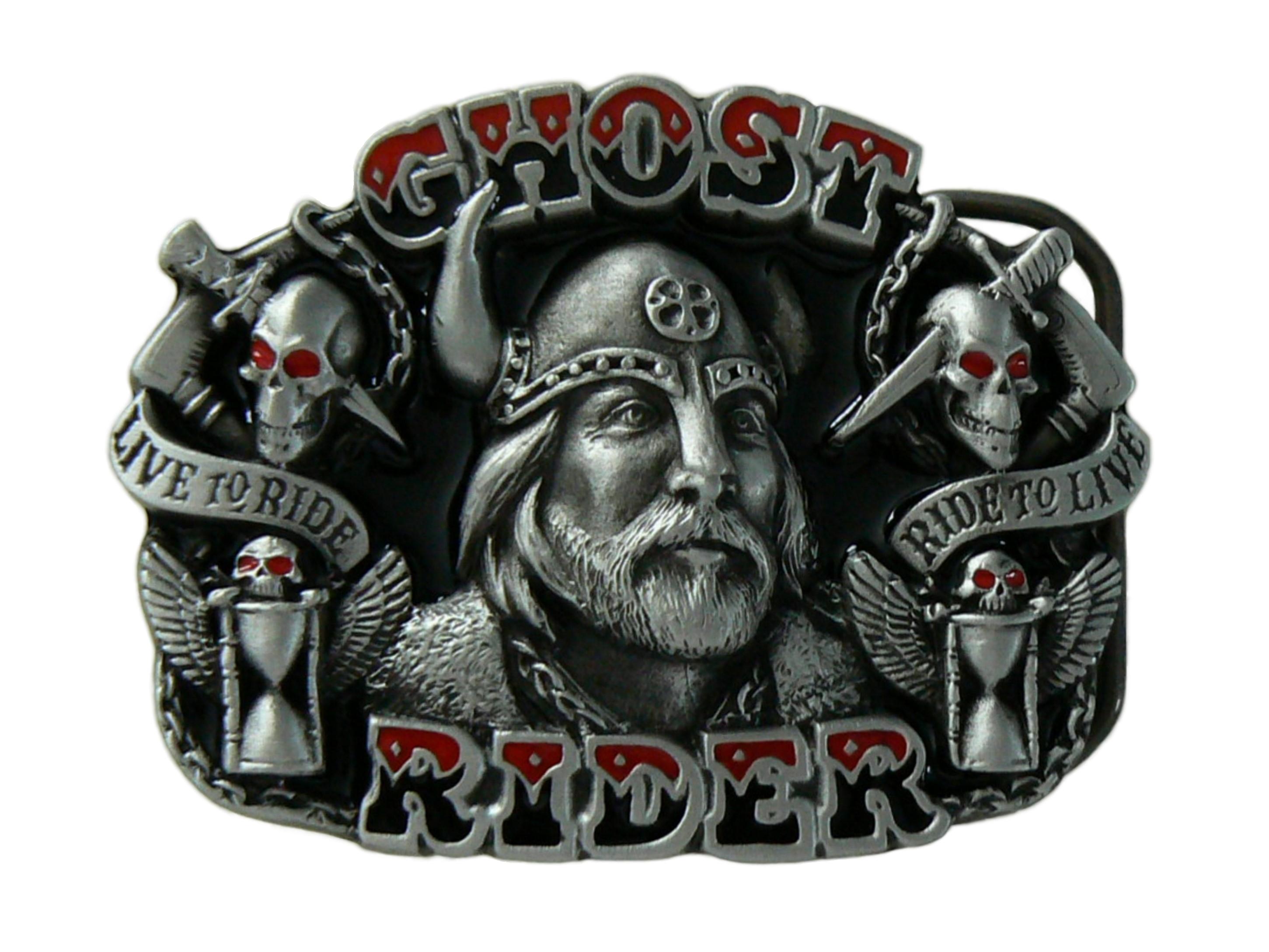 Ghost Rider Belt Buckle