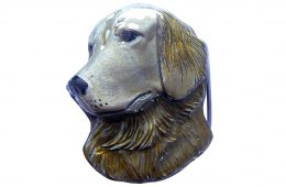 Golden Retriever Belt Buckle