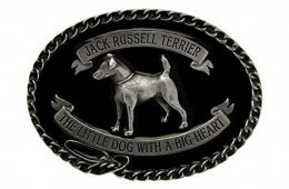 Jack Russell Terrier Belt Buckle