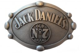 Jack Daniel's No.7 Oval Belt Buckle