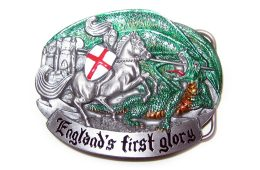 England's First Glory Belt Buckle