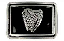 Irish Harp Buckle